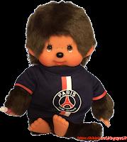 Monchhichi Footballeur Paris Saint Germain 24070