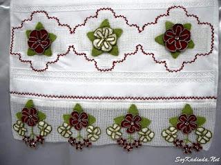 yeni havlu kenarı tığ işi örnekleri