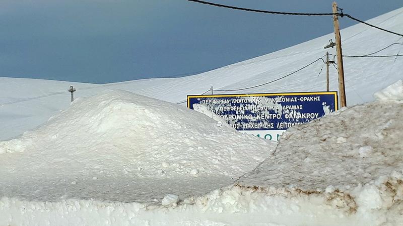 Κλειστό το Χιονοδρομικό Κέντρο Φαλακρού λόγω μεγάλων όγκου χιονιού - Φόβοι για χιονοστιβάδες