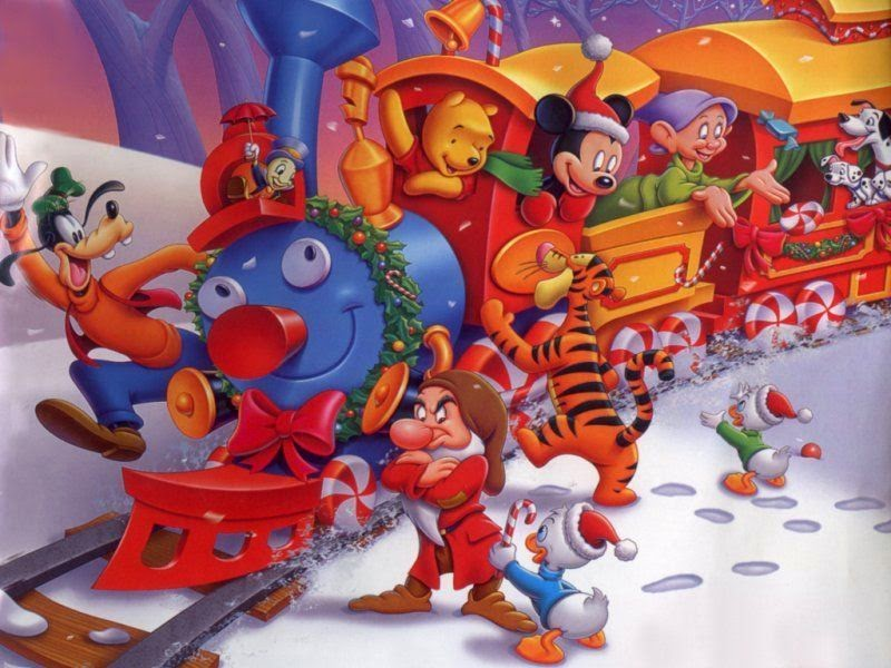 Mickey and His Friends Special Christmas Images