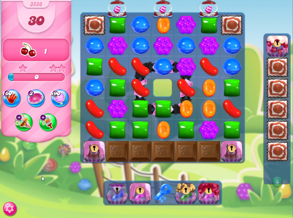Candy Crush Saga level 3536