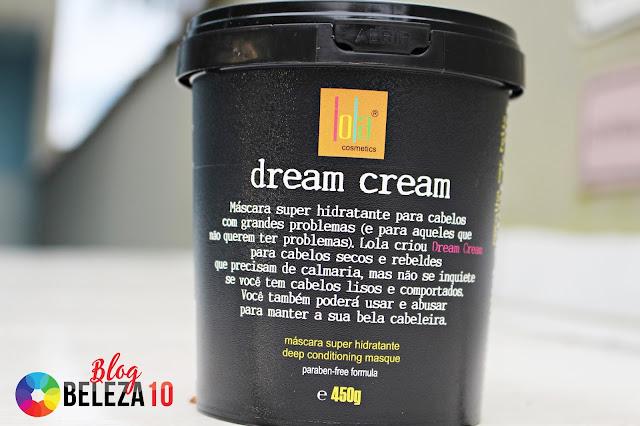 Dream Cream Lola Cosmetics. Compre produtos da linha Lola Cosmetics como Máscara Super Hidratante Dream Cream, com os melhores preços aqui na Beleza 10.