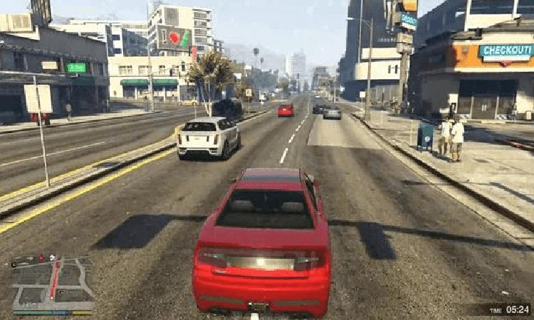 تحميل لعبة GTA V للاندرويد مجانا
