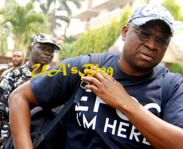 """Tell Them That I'm Not Godswill Akpabio"" – Fayose Fires EFCC, APC After He Regained Freedom"