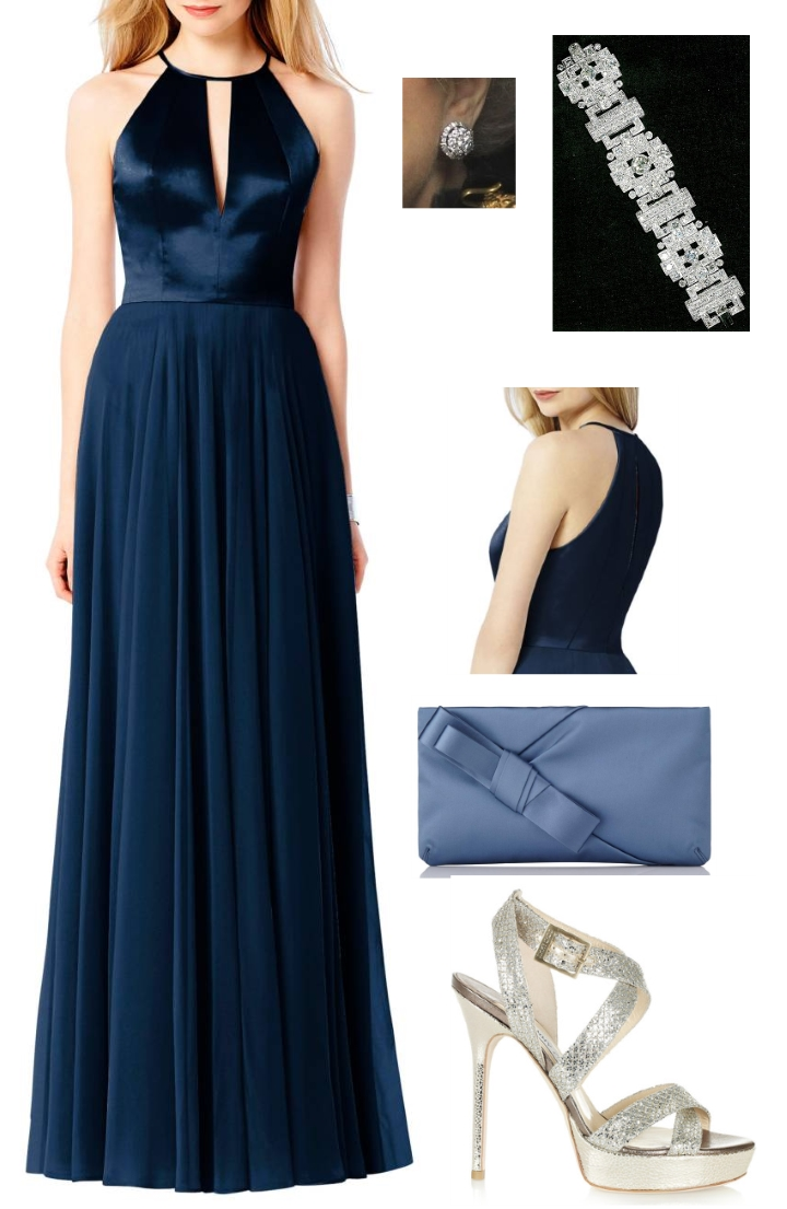 Duchess Kate September 2017 Clarette Sandals Cristina Beige Downton Abbey Fan Accessorised With Kates Jimmy Choo Vamp The Lk Bennett Frances Blue Satin Clutch Queens Diamond Cluster Earrings And