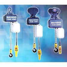 Jual Takel Chain Block Hoist Bando Terlengkap