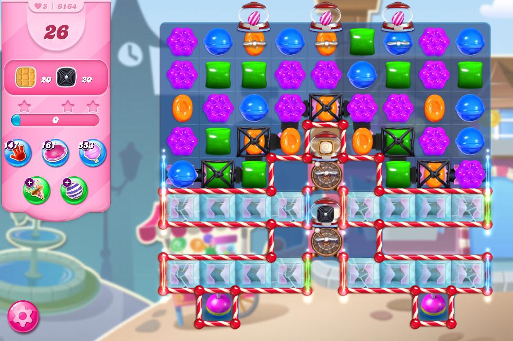 Candy Crush Saga level 6164