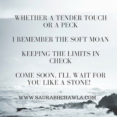 come soon.... romantic poem by saurabh chawla
