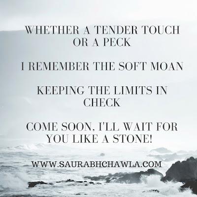 come soon.... romantic poem by saurabh chawla