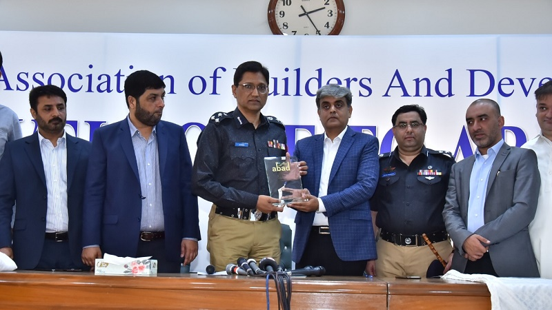 DIG Police visits ABAD office in Karachi