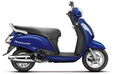 Suzuki Access 125 Side wallpaper