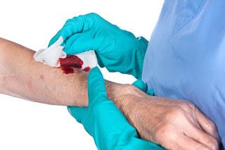 اسعاف الجروح