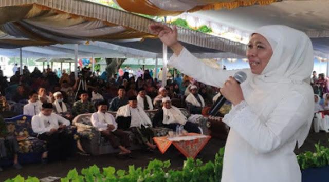 Deklarasi JKSN NTB, Khofifah: Jokowi Sosok Pemimpin yang Taat Ibadah