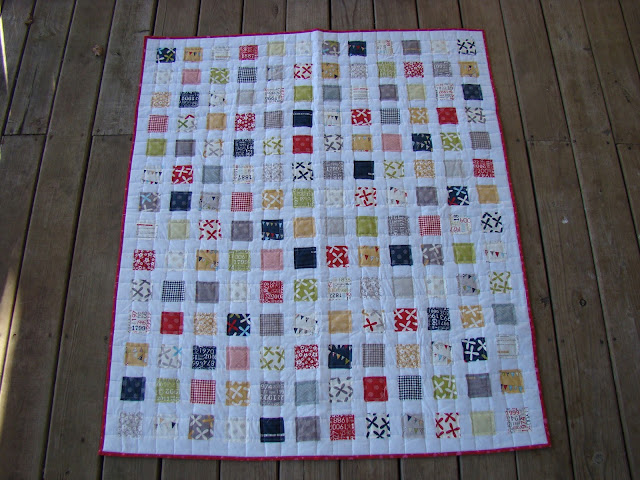 Moda Reunion quilt as you go quilt