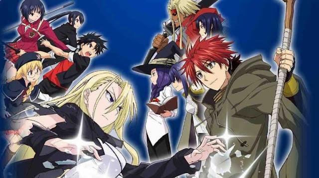 UQ Holder: Mahou Sensei Negima 2 - Top Best Anime Like Black Clover list