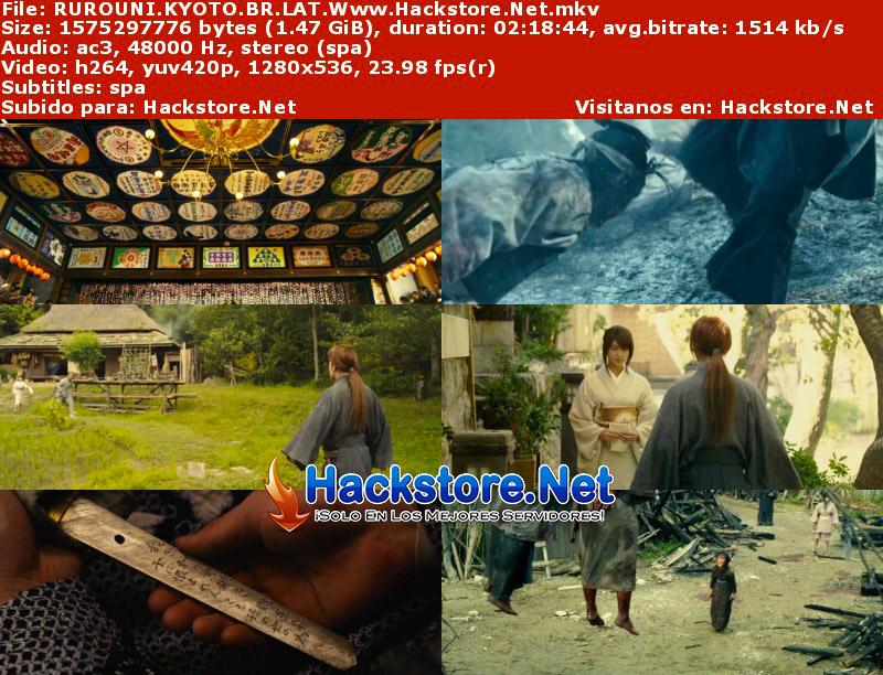 Capturas de Rurouni Kenshin: Kyoto Inferno (2014) Blu-Ray RIP HD Latino