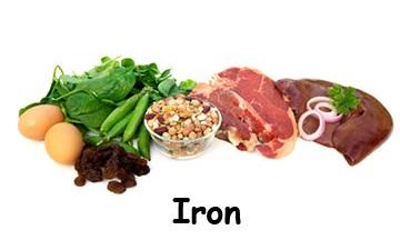 Zat Besi Terkandung Dalam Makanan Apa Saja