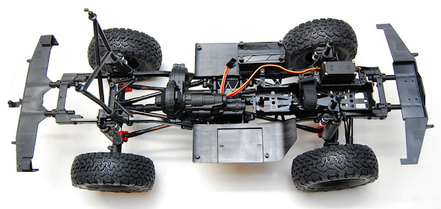 Axial SCX10 II chassis top