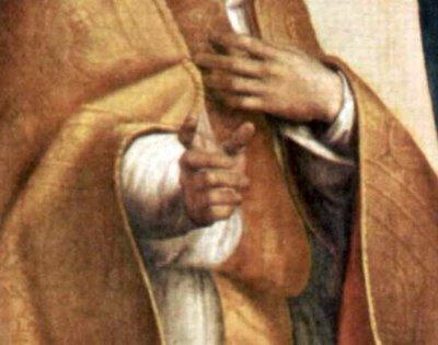 detalles de la madonna sixtina