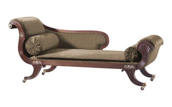 Relax n rave speakdecor chaise longue for Chaise lounge antique furniture