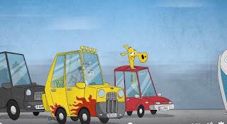 noua reclama interactiva zizin cu cu ziua nesfarsita a lui giraf