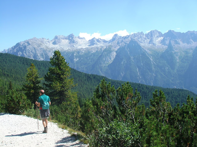 trekking passeggiate sentieri facili in Cadore