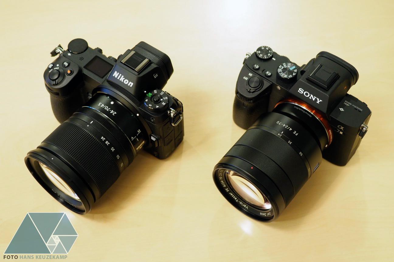 Nikon Z7 и Sony A7 III
