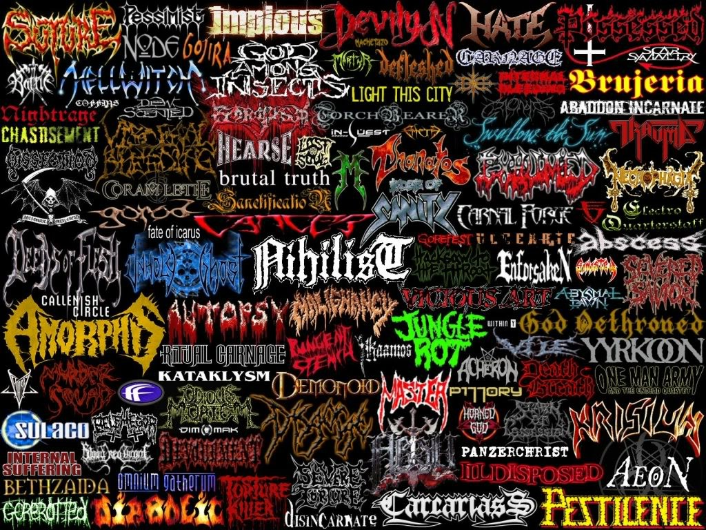 death metal logo - photo #42