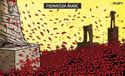 Resultado de imagem para a primavera árabe