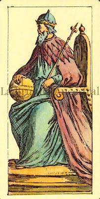 Tarot de Mitelli: La Papisa