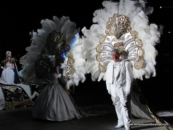 procession at Mardi Gras Royal Gala in Lake Charles, Louisiana