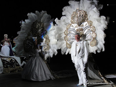 procession at Mardi Gras Royal Gala in Lake Charles, Louisiana