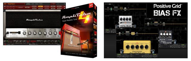 Software de Emulaciones de Efectos IK Multimedia AmpliTube 4 Vs Positive Grid BIAS Fx