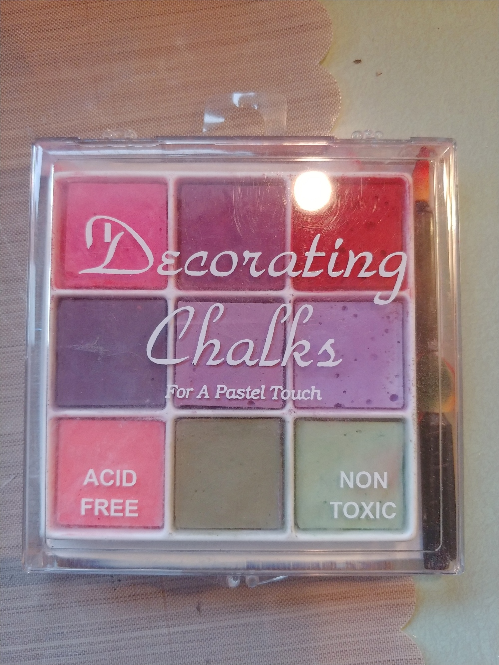 decorating chalks