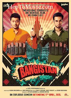 Bangistan (2015) Full Movie Free Download HD online 300mb 700mb MKV