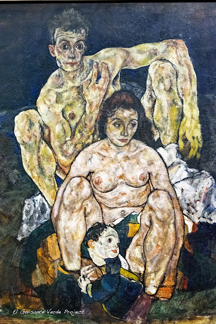 Egon Schiele: La Familia - Belvedere Museum - Viena por El Guisante Verde Project