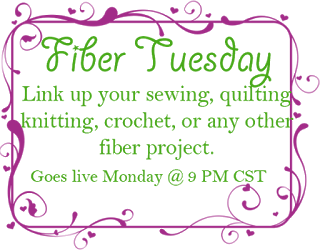 Fiber Arts Link Party, Fiber Tuesdays,