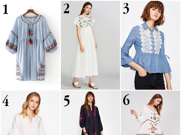 Wishlist: boho and layering for late summer
