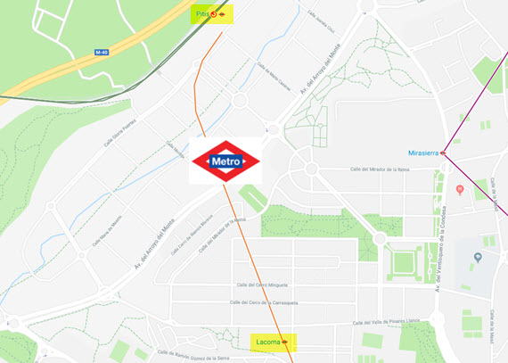 La Estacion De Arroyo Fresno De Metro Estara Lista En 2019 Es Por