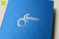 Logo: OneChance Damen Ohrring Kollektion Blau Kristall Teardrop Ohrhänger