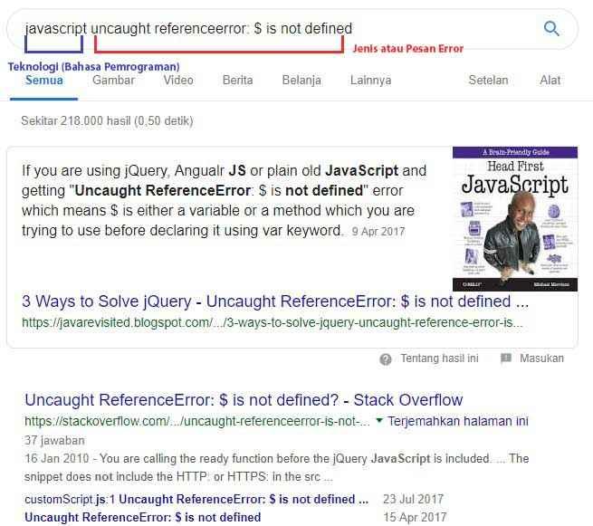 Kemampuan Googling