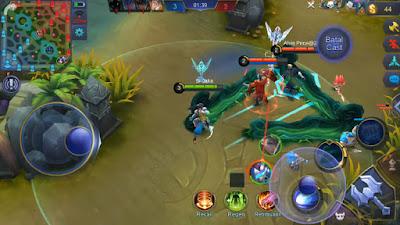 Skill Kedua (Fist Break) Hero Badang Mobile Legends