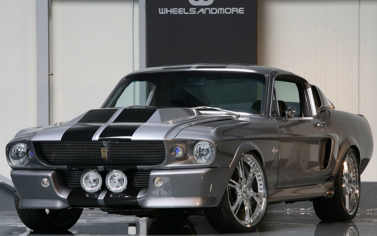 Hd-Car Wallpapers: Cool Muscle Cars Wallpaper