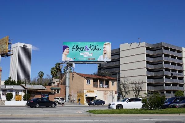 Alexa Katie Netflix series billboard