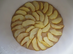 Bizcocho de manzana olla GM