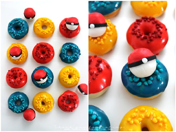#GottaBlogThemAll: Pokémon Donuts!