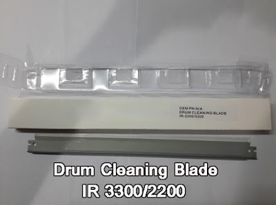 Drum Cleaning Blade Mesin Fotocopy Canon IR 3300 IR 2200