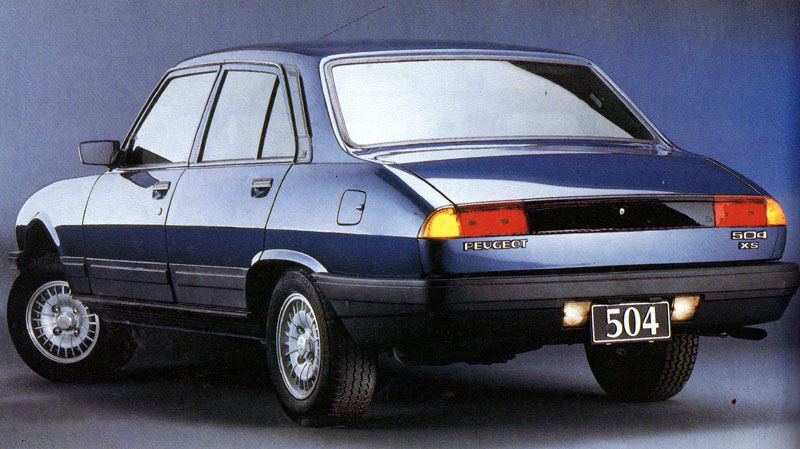 El Blog De Test Del Ayer Precios Del Ayer Peugeot 504