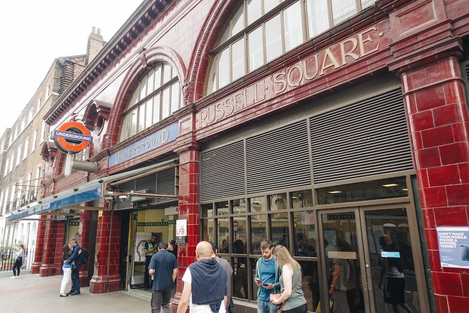 ラッセル・スクウェア駅 (Russell Square Station)