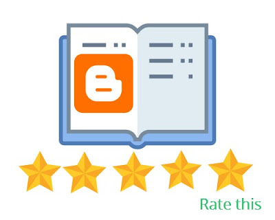create 5 star rating widget for bloggers